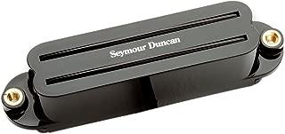 Seymour Duncan SCR-1b Cool Rails Strat Bridge Pickup, Black