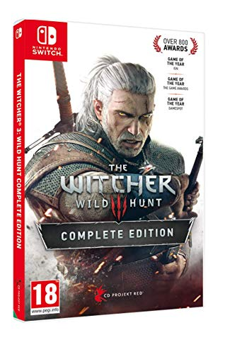 The WITCHER 3 Wild Hunt Complete Edition Light Edition Switch - Complete - Nintendo Switch [Importación italiana]