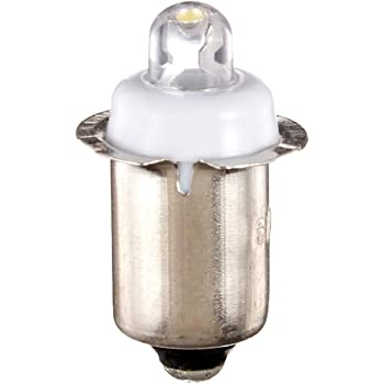 オーム電機 LED電球 懐中ライト交換用LED球 6V/0.5W LED-B6-W