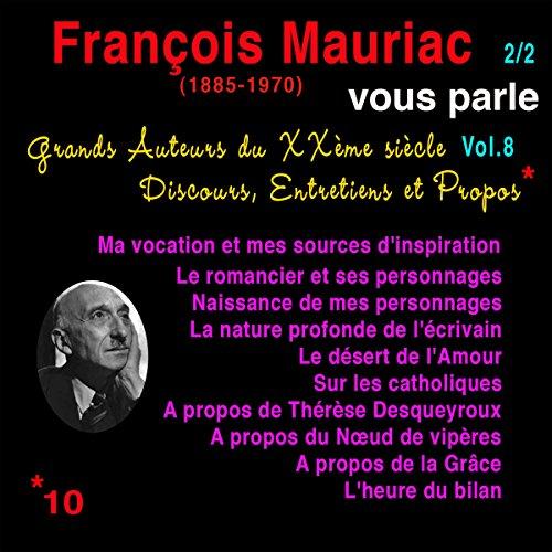 Couverture de François Mauriac vous parle 2