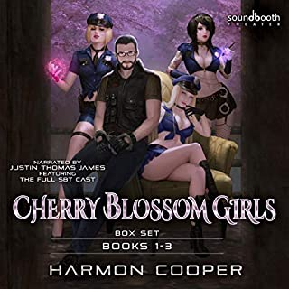 Cherry Blossom Girls Box Set audiobook cover art