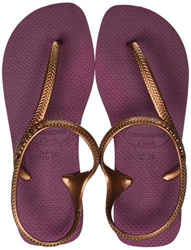 Havaianas Flash Urban, Sandali Bassi Donna, Rosso (Bordeaux), 41/42 EU