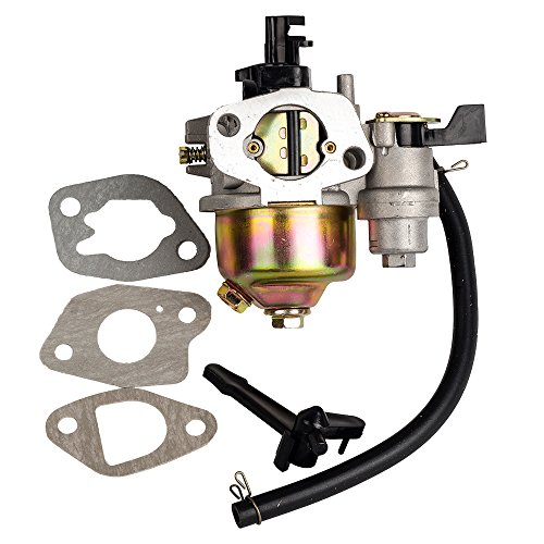 HIFROM Carburetor with Gasket Replacement for Harbor Freight Greyhound 196CC 6.5HP Lifan Gas Engine 66014 66015 Carb