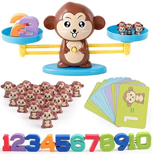 バランスゲーム 子供 天秤 知育玩具 セット 指先訓練 数字の基礎を覚える 子ども んびん 子供 キッズ 足し算 引き算 幼児 数のお勉強 子ども 幼児 知育 オモチャ 玩具 幼稚園 教具