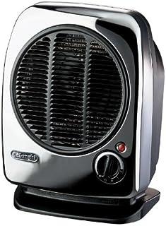 DeLonghi HVM 02 Calentador de ventilador Negro 2000 W - Calefactor (Calentador de ventilador, Pared, Piso, Negro, 2000 W, 1000 W, 60 m³)