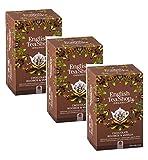 English Tea Shop Rooibos Té Orgánico con Chocolate y Vainilla Naturalmente sin Cafeína Made in Sri Lanka - 3 x 20 Sobres (120 Gram)