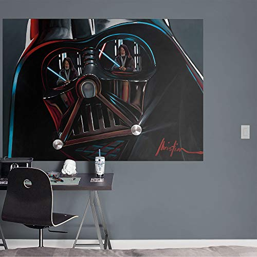 Darth Vader: Helmet Mural - Officially Licensed Removable Wall Graphic