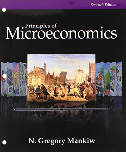 Bundle: Principles of Microeconomics, Loose-Leaf Version, 7th + Aplia, 1 term Printed Access Card