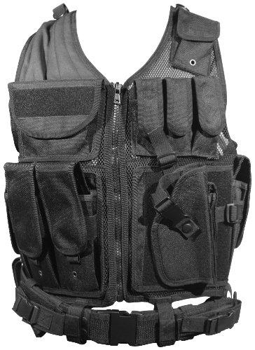 tactical vest for women Firepower Deluxe Tactical Vest Black