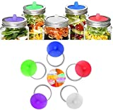 Silicone Fermenting Lids, Waterless Airlock...