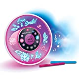 VTech - Kidi Smart Glow Art, Enceinte Musicale Intelligente, Personnalisable, Effet Néon – Version FR
