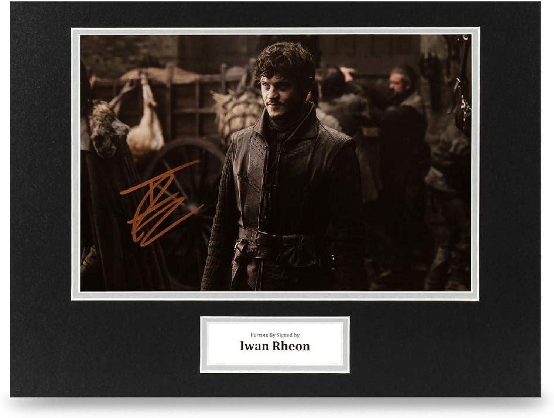 Iwan Rheon Signed 16x12 Photo Display Game of Thrones Autograph Memorabilia +COA