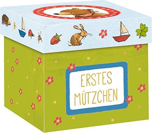 Aufbewahrungsboxen im 3er-Set - BabyBär - Erste Schätze: 3 Boxen: Erstes Mützchen, Erste Schätze, Erste Schühchen