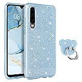 BENTOBEN Huawei P30 Case, Huawei P30 Case Glitter, Three