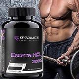 Kreatin Kapseln hochdosiert HCL 3000 - 120 Muskelaufbaukapseln Kraftsteigerung Muskelmasse aufbauen Creatin von Dynamics Nutrition