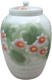 Boite Alimentaire Cuisine Airtight alimentaire Conteneurs avec couvercles en céramique Grande Bidons Jars céréales Distrib...