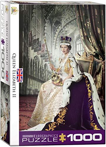 EuroGraphics 15.240–2.334,3cm Queen Elizabeth II Puzzle (1000Teile)