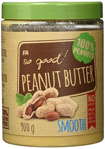 FITNESS AUTHORITY So Good Peanut Butter - 900 g - Smooth