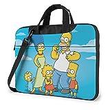 Simpsons - Maletín para portátil y tablet (15,6 pulgadas)