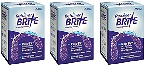 Retainer Brite Retainer brite tablets, 288 tablets (9 month supply), 288 Count