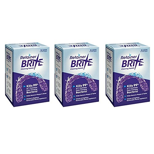 Retainer Brite Retainer brite tablets, 288 tablets (9 month supply) , 288 Count