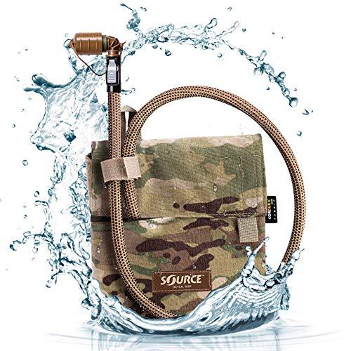 Source - Pack de hidratación unisex de canguro, multicam, 1 litro