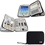 BUBM Waterproof Compact Electronics Storage Bag for...