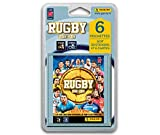 Panini- 6 Pochettes, Rugby 2018-2019, 2421-038