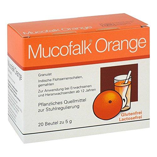 MUCOFALK Orange Gran.z.Herst.e.Susp.z.Einn.Beutel 20 St