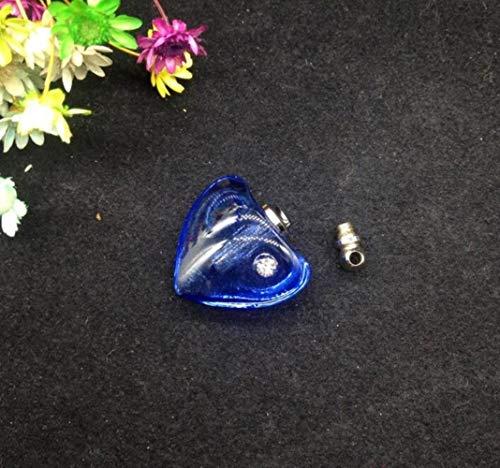XCVB kristal fles hart flesje hanger kristal parfum fles ketting zirkoon hanger charms