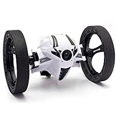 """More details please search on You Tube ,key words""""Night Lions Tech Bounce Car"""" Unique design, cool appearance. High quality material, more attractive.Function description: Back & Forth & Left & Right Fast and accurate steering & Jumping & Music& Auto..."""