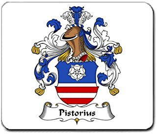 Pistorius Family Crest Coat of Arms Mouse Pad