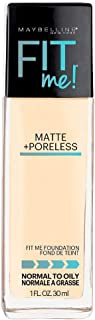 Maybelline Fit Me Matte Plus Poreless Foundation 110 Porcelain 30ml