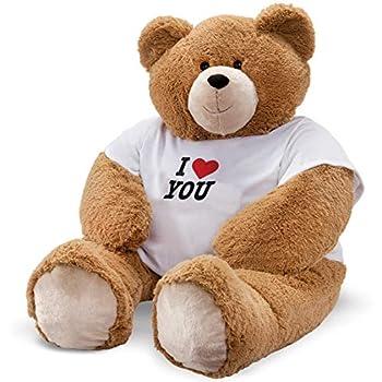 Vermont Teddy Bear Giant Teddy Bear - Big Teddy Bear for Girlfriend or Loved One 4 Foot