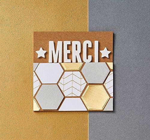 Papermania Karten A6, 50 Stück und 50 Umschläge, 300gsm - 3
