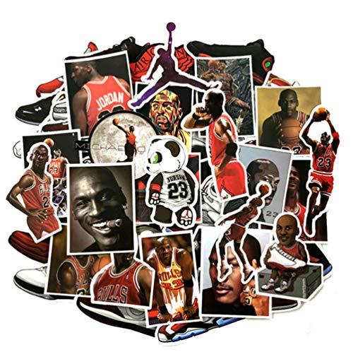 52 Stks Niet Herhaal Basketbal Ster Sportschoenen Notebook Fiets Bagage Tide Merk Schoenen Graffiti Waterdichte Stickers