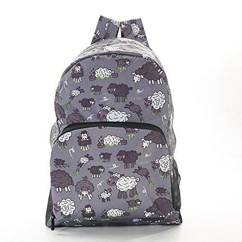 Sheep Print Expandable Backpack/Rucksack Holds 15kg Max 6mth Guarantee (Grey)