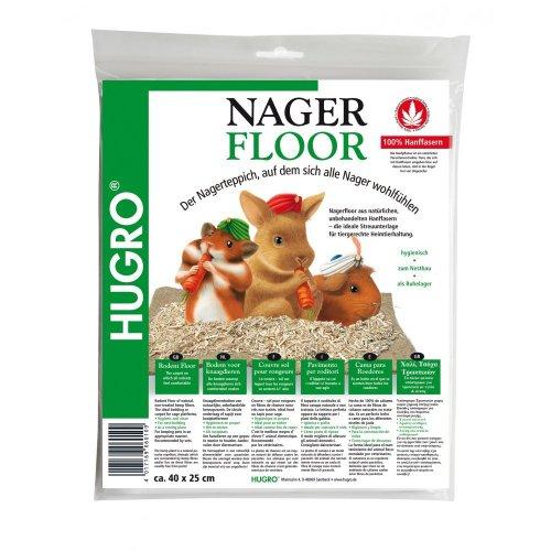 Hugro Nagerfloor Hanfmatte Standard 40x25cm(UMPACKGROSSE 20)