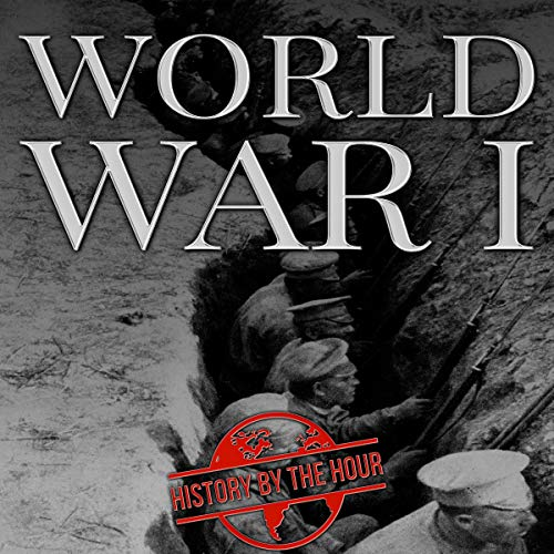 World War I audiobook cover art