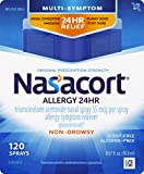 Nasacort Allergy 24 Hour Nasal Spray, 120 Sprays (0.57 fl. Ounce)