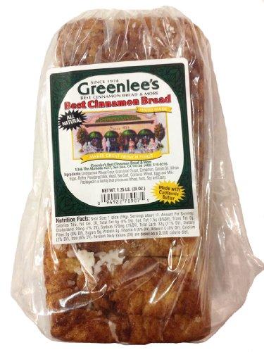 Greenlee's Bakery Cinnamon Bread 20 Oz Loaf (Pack of 10)