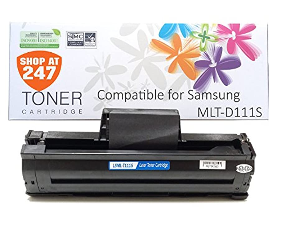 Shop At 247 New Compatible Toner Cartridge Replacement for MLT-D111S Toner for SL-M2020W, SL-M2070W/FW, Black