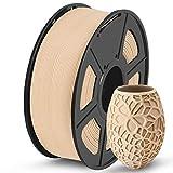 SUNLU Holz Filament 1.75 PLA, 3D Drucker Filament Wood 1KG Spool, Toleranz beim Durchmesser liegt bei +/- 0,02mm Wood Filament