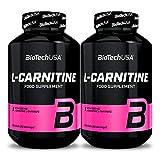 Biotech USA L-CARNITINE 1000 120 Tabletas | Control de peso | Convierte la grasa corporal en energía | Quemador de grasa