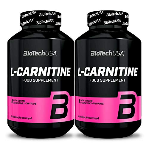 Biotech USA L-CARNITINE 1000 120 Tablets | Weight Management | Turns Body Fat Into Energy | Fat Burner