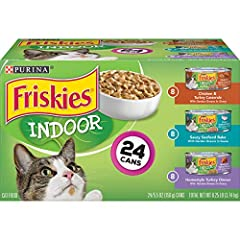 Formulated to meet the nutritional needs of adult indoor cats Made with real poultry or seafood Delicious tastes cats love Moist, tender texture to please her palate Enhanced with vitamins and minerals for overall well-being, and essential taurine fo...