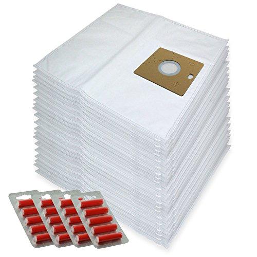 SPARES2GO Microvezeldoekzakken voor Nilfisk Actie A100 A200 82215200 Stofzuiger (Pak van 20 + 20 Fresheners)