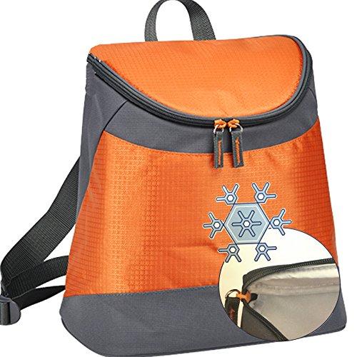 Kühlrucksack Rucksack von JEMIDI mit Kühlfunktion Kühl Box Kühltasche Campingbox Isolierbox ThermorucksackIsoliert