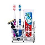 Soporte de almacenamiento para cepillo de dientes y pasta de...