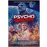 KONGQTE Psycho Goreman (2020) Film Cover Art Poster Leinwand Malerei Wohnkultur High Definition Poster Wohnzimmer-20x30 Zoll ohne Rahmen (50x75cm